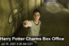 Harry Potter Charms Box Office