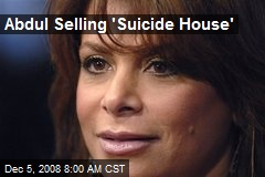 Abdul Selling 'Suicide House'