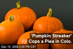 'Pumpkin Streaker' Cops a Plea in Colo.