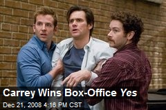 Carrey Wins Box-Office Yes