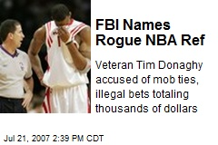 FBI Names Rogue NBA Ref