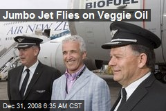 Jumbo Jet Flies on Veggie Oil