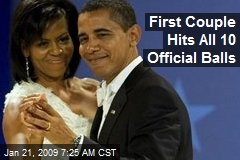 First Couple Hits All 10 Official Balls
