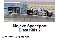 Mojave Spaceport Blast Kills 2