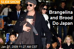 Brangelina and Brood Do Japan