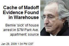 Cache of Madoff Evidence Found in Warehouse