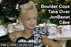 Boulder Cops Take Over JonBenet Case