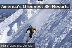 America's Greenest Ski Resorts