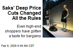 Saks' Deep Price Cuts Changed All the Rules
