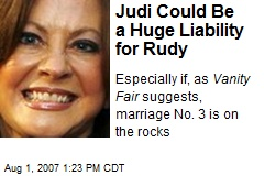 Judi Could Be a Huge Liability for Rudy