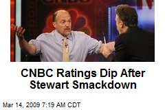 CNBC Ratings Dip After Stewart Smackdown