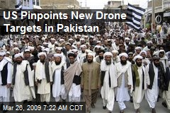 US Pinpoints New Drone Targets in Pakistan