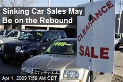 Sinking Car Sales May Be on the Rebound