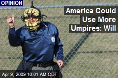 America Could Use More Umpires: Will