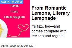From Romantic Lemons, Literary Lemonade
