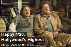Happy 4/20, Hollywood's Highest