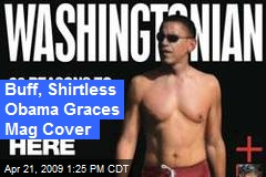Buff, Shirtless Obama Graces Mag Cover