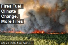 Fires Fuel Climate Change, More Fires