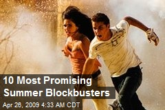 10 Most Promising Summer Blockbusters