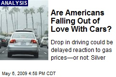 Are Americans Falling Out of Love With Cars?