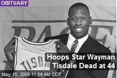 Hoops Star Wayman Tisdale Dead at 44