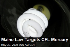 Maine Law Targets CFL Mercury