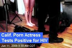 Calif. Porn Actress Tests Positive for HIV