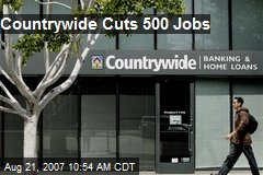 Countrywide Cuts 500 Jobs