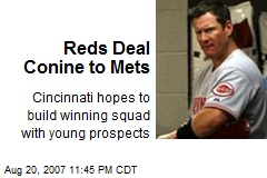 Reds Deal Conine to Mets
