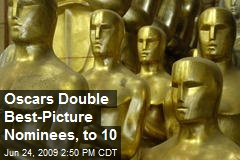 Oscars Double Best-Picture Nominees, to 10