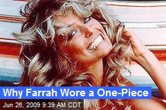 Why Farrah Wore a One-Piece