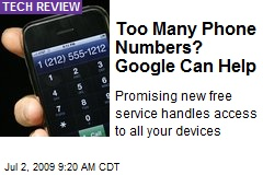 Too Many Phone Numbers? Google Can Help