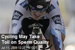 Cycling May Take Toll on Sperm Quality