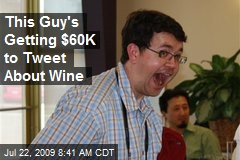 This Guy's Getting $60K to Tweet About Wine