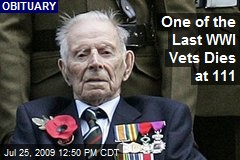 One of the Last WWI Vets Dies at 111