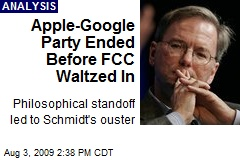 Apple-Google Party Ended Before FCC Waltzed In