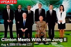 Clinton Meets With Kim Jong Il