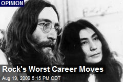 Rock's Worst Career Moves