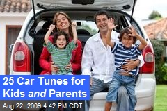 25 Car Tunes for Kids and Parents