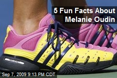 5 Fun Facts About Melanie Oudin