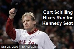 Curt Schilling Nixes Run for Kennedy Seat