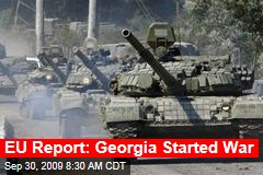 EU Report: Georgia Started War
