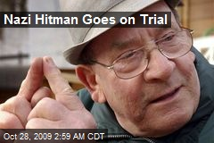 Nazi Hitman Goes on Trial
