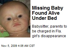 Missing Child: Recent News Reports on Missing Children