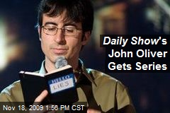 Daily Show 's John Oliver Gets Series