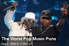 The Worst Pop Music Puns