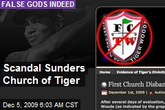 Scandal Sunders Church of Tiger