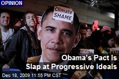 Obama's Pact Is Slap at Progressive Ideals