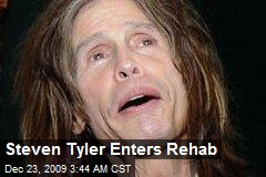 Steven Tyler Enters Rehab