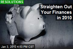 Straighten Out Your Finances in 2010